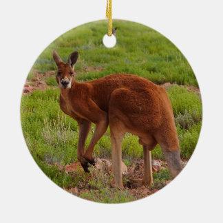 Australian kangaroo ornament