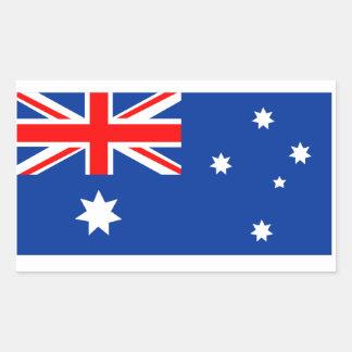 Australian Kangaroo Rectangular Sticker