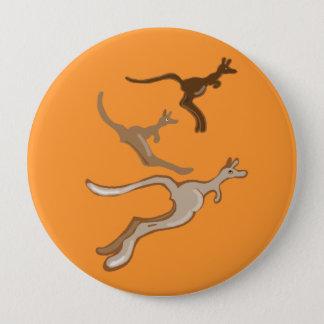 Australian Kangaroos 10 Cm Round Badge