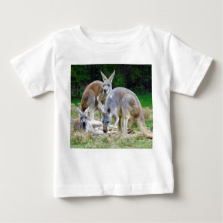 Australian Kangaroos Relaxing in the Sun Baby T-Shirt