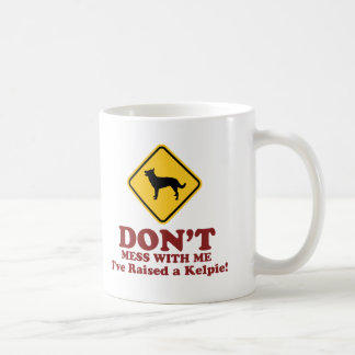 Australian Kelpie Basic White Mug