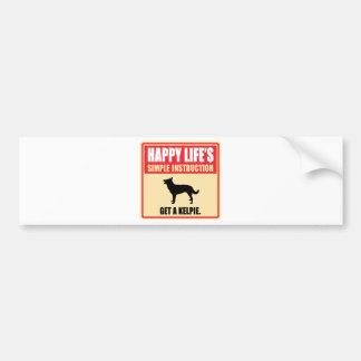 Australian Kelpie Car Bumper Sticker