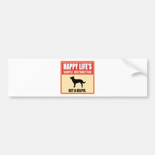 Australian Kelpie Bumper Stickers