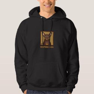 Australian Kelpie Cartoon Hoodie