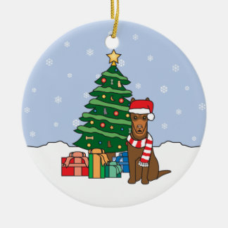 Australian Kelpie Christmas Ornament