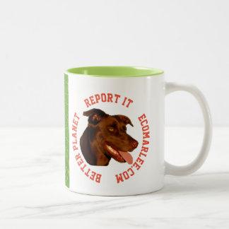 Australian kelpie coffee mug