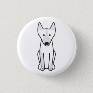 Australian Kelpie Dog Cartoon 3 Cm Round Badge