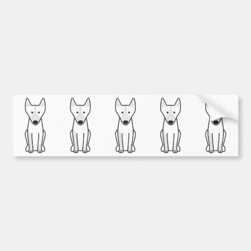 Australian Kelpie Dog Cartoon Bumper Stickers
