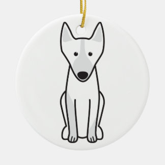 Australian Kelpie Dog Cartoon Christmas Ornament