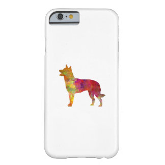 Australian Kelpie in watercolor Barely There iPhone 6 Case