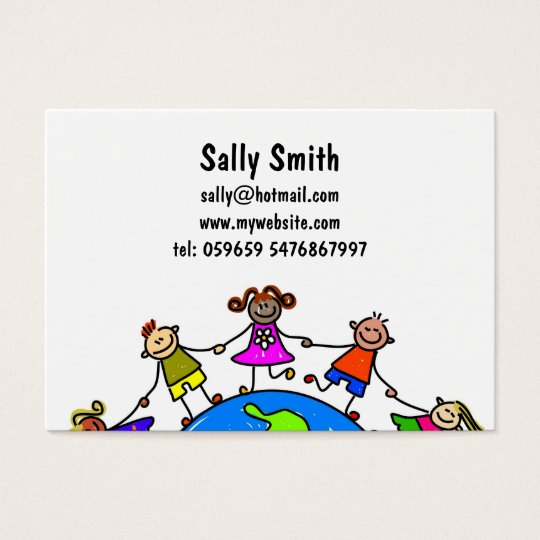 Australian Kids Business Card