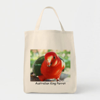 Australian King Parrot Tote Bag