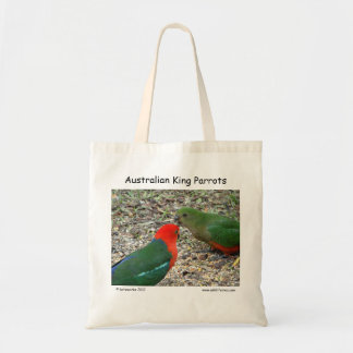 Australian King Parrots Tote Bag