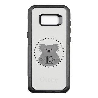 Australian Koala Bear Cute Add Your Name Monogram OtterBox Commuter Samsung Galaxy S8+ Case