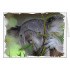 Australian Koala Greeting Card