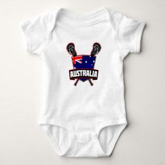 Australian Lacrosse Logo Baby Bodysuit