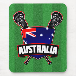 Australian Lacrosse Logo Mousepad