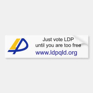 Australian LDP Bumper Sticker