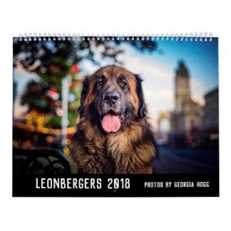 Australian Leonbergers Wall Calendar