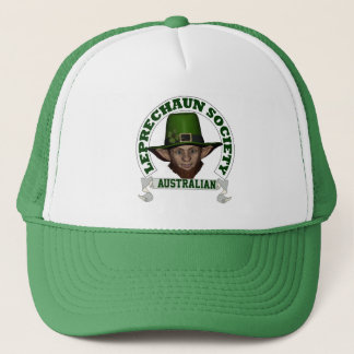 Australian leprechaun society  St Patrick's day Trucker Hat