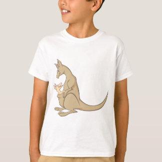 Australian Mama Kangaroo and Baby Joey T-Shirt