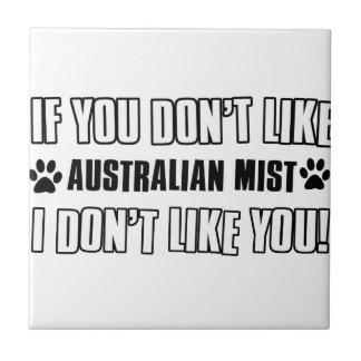 australian mist cat designs ceramic tiles