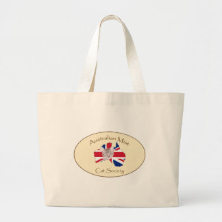 Australian Mist Cat Society products Large Tote Bag