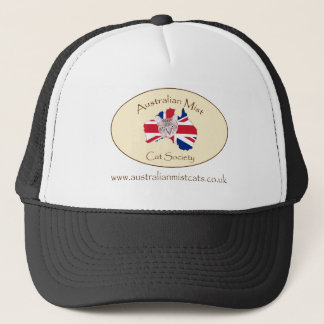 Australian Mist Cat Society products Trucker Hat