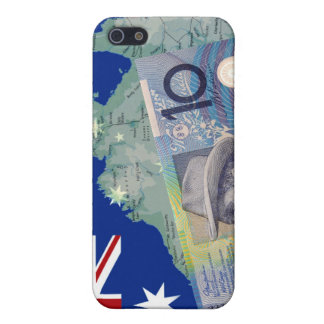 Australian Money & Flag Case For iPhone 5/5S