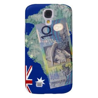 Australian Money & Flag Galaxy S4 Case
