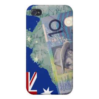 Australian Money & Flag iPhone 4/4S Cover