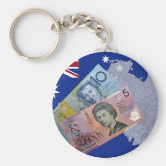 Australian Money Key Ring