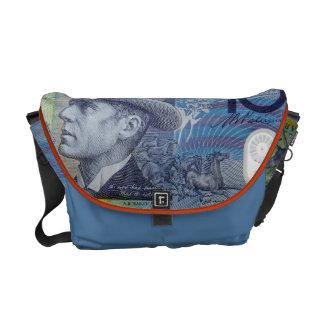 Australian Money Messenger Bag