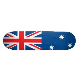 Australian national flag skate board deck