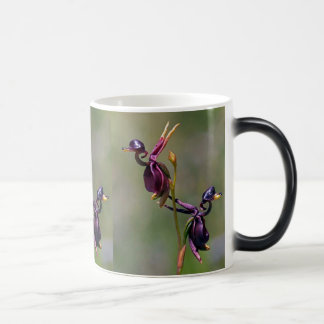 Australian Orchids Flying Ducks, Morphing Mug