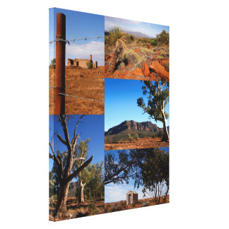 Australian Outback Collage 2 Canvas Print