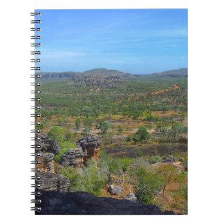 Australian outback notebook