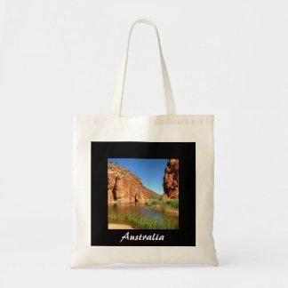Australian outback photo tote bag