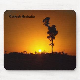 Australian Outback sunset mousepad