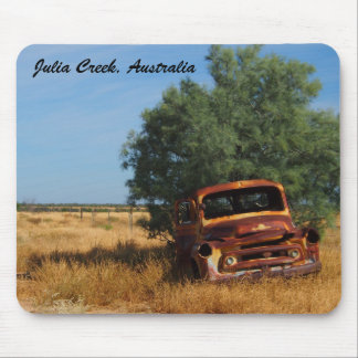 Australian outback truck mouse pad