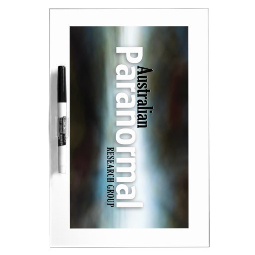 Australian Paranormal Research Group  Merchandise Dry-Erase Board