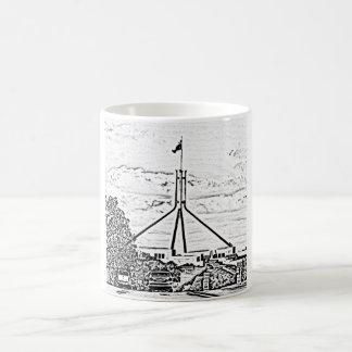 Australian Parliament - Canberra Basic White Mug