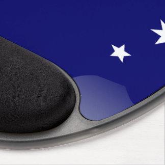 Australian polished flag gel mouse mat