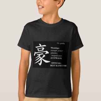 Australian Pride in Black Tee Shirts