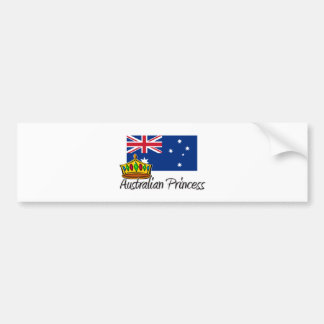 Australian Princess Bumper Stickers