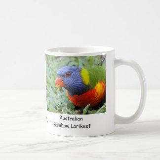 Australian Rainbow Lorikeet Coffee Mug