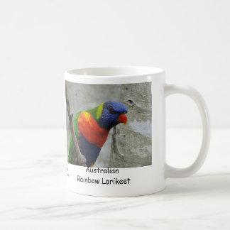 Australian Rainbow Lorikeet Mugs