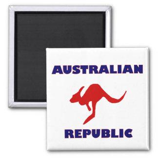Australian Republic Square Magnet