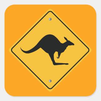 Australian Road Panel Sticker