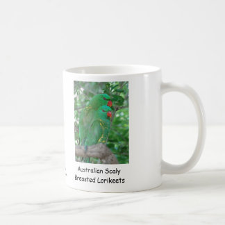Australian Scaly Breasted Lorikeets Mug